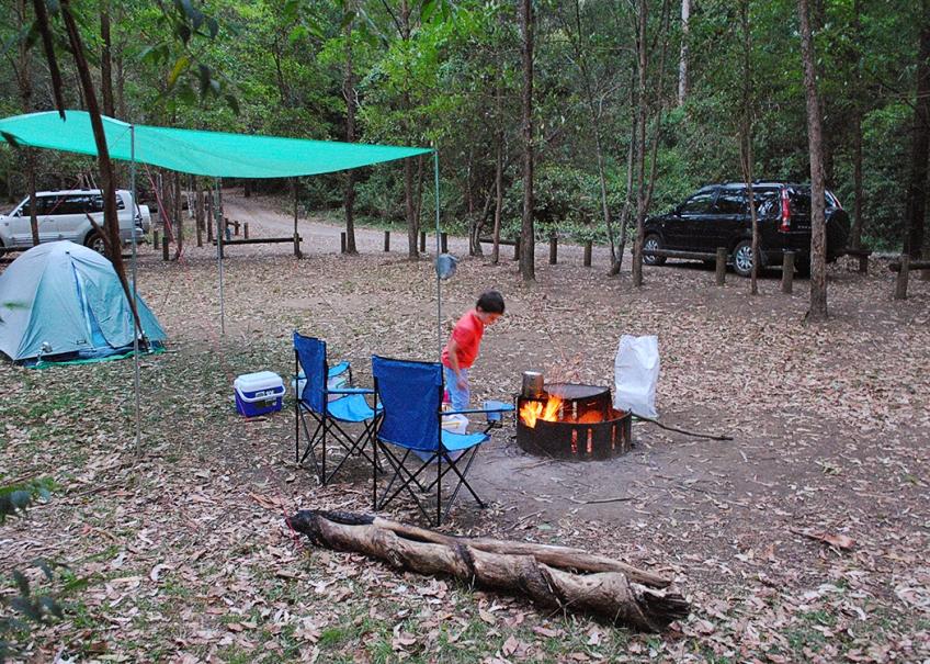 good, clean level campsite