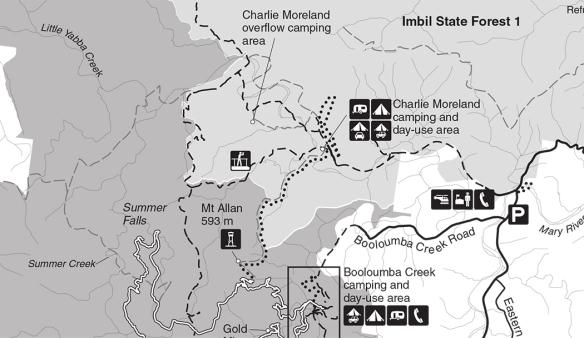 Charlie Moreland map