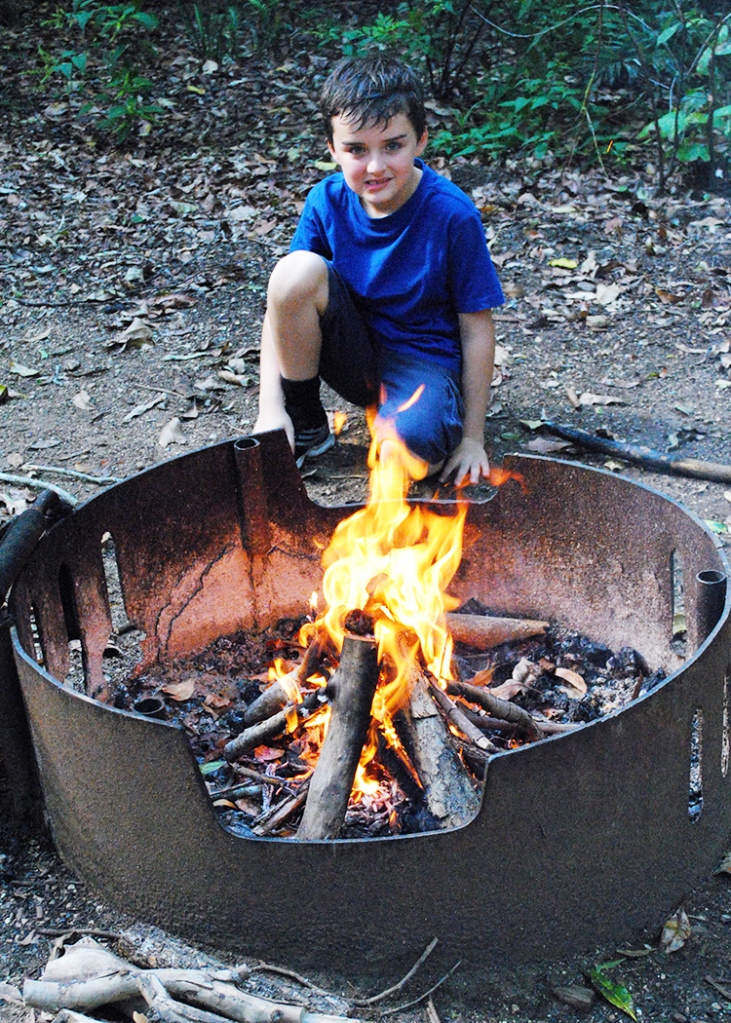 E in charge of fire lighting