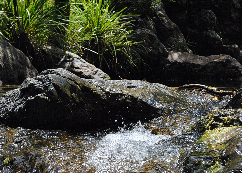 Rocky Hole - cascade